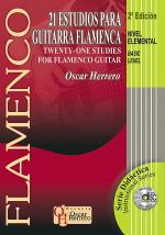 21 Studies For Flamenco Guitar, Basic Level Sheet Music
