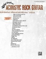 Value Songbooks -- Acoustic Rock Guitar Sheet Music