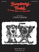 Sweeney Todd Sheet Music