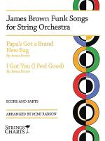 James Brown Funk Songs for String Orchestra Sheet Music