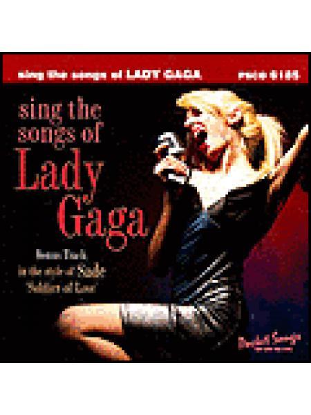 Sing the Songs of Lady Gaga Sheet Music