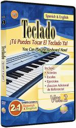 2 in 1 Bilingual: Teclado Vol. 2 Sheet Music