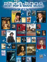2000-2009 Best Pop and Movie Hits, 2010 Sheet Music