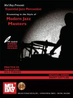 Drumming in the Style of Modern Jazz Masters Book/CD Set Sheet Music