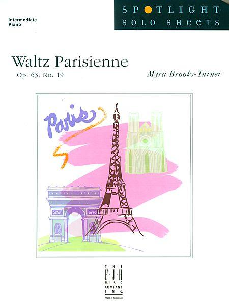 Waltz Parisienne, Op. 63, No. 19 Sheet Music