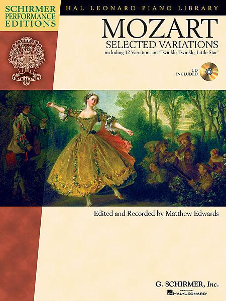 Mozart - Selected Variations Sheet Music