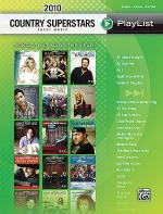 2010 Country Superstars Sheet Music Playlis Sheet Music