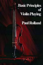 Basic Principles of Violin Playing Sheet Music