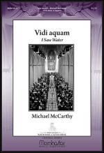 Vidi Aquam (I Saw Water) Sheet Music
