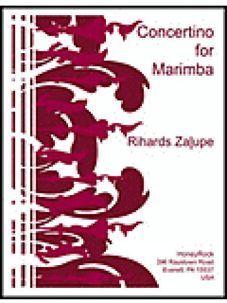 Concertino for Marimba & Orchestra Sheet Music