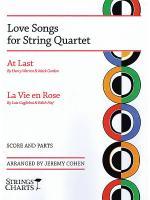 Love Songs for String Quartet Sheet Music