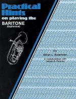 Practical Hints on Playing the Baritone Sheet Music