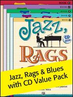 Jazz, Rags & Blues with CD Value Pack Sheet Music