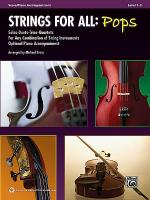 Strings for All -- Solo-Duet-Trio-Quartet with Optional Piano Accompaniment Sheet Music