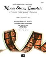 Movie String Quartets for Festivals, Weddings, and All Occasions, Alfred's Ovation String Quartet Se Sheet Music