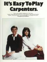 It's Easy To Play The Carpenters Sheet Music