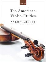 Ten American Violin Etudes Sheet Music