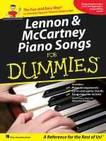 Lennon & McCartney Piano Songs for Dummies Sheet Music