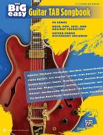 The Big Easy Guitar TAB Songbook Sheet Music