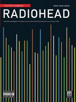 Radiohead Piano Songbook Sheet Music