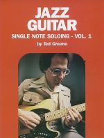 Ted Greene -- Jazz Guitar Single Note Soloing, Volume 1 Sheet Music