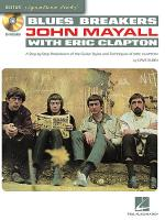Blues Breakers with John Mayall & Eric Clapton Sheet Music