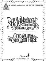 Ray LaMontagne and the Pariah Dogs - God Willin' & The Creek Don't Rise Sheet Music