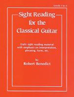 Sight Reading for the Classical Guitar - Levels 1 to 3 Sheet Music