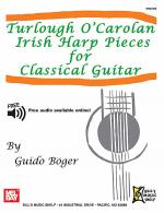 Turlough O'Carolan Irish Harp Pieces for Classical Guitar Sheet Music