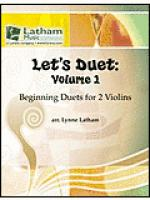 Let's Duet: Volume 1 for 2 Violins Sheet Music