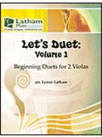 Let's Duet: Volume 1 for 2 Violas Sheet Music