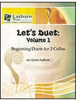 Let's Duet: Volume 1 for 2 Cellos Sheet Music