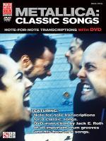 Metallica: Classic Songs for Drum Sheet Music