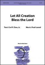 Let All Creation Bless the Lord Sheet Music