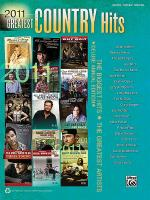 2011 Greatest Country Hits Sheet Music