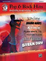Pop & Rock Hits Instrumental Solos Sheet Music
