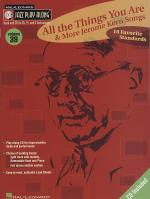 Jazz Play Along: Volume 39 - 'All The Things You Are' And More Jerome Kern Songs Sheet Music