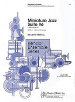Lennine Niehaus: Miniature Jazz Suite No.6 Sheet Music