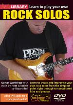 Learn to Play Your Own Rock Solos Sheet Music
