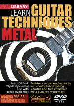 Learn Guitar Techniques: Metal Sheet Music