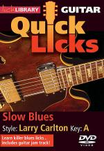 Slow Blues - Quick Licks Sheet Music