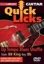 Up Tempo Blues Shuffle - Quick Licks Sheet Music