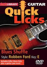 Blues Shuffle - Quick Licks Sheet Music