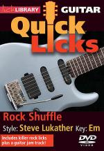 Rock Shuffle - Quick Licks Sheet Music
