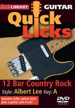 12-Bar Country Rock - Quick Licks Sheet Music