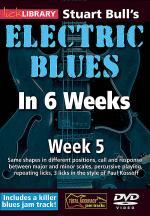 Stuart Bull's Electric Blues in 6 Weeks Sheet Music