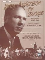 Leroy Anderson For Strings Viola Sheet Music