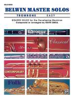 Belwin Master Solos (Trombone), Volume 1 Sheet Music