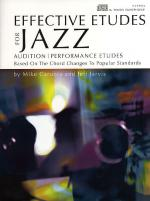 Effective Etudes For Jazz - Tenor Saxophone Sheet Music