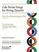 Cole Porter Songs for String Quartet Sheet Music